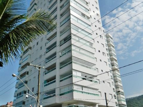 Apartamento de 2 dormitórios com Vista pro Mar na Praia Grande