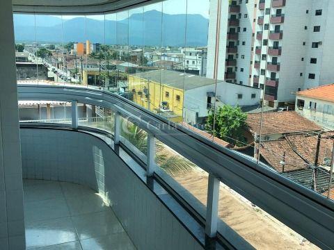 Apartamento com 2 Suítes e Churrasqueira na Cidade Ocian, Praia Grande