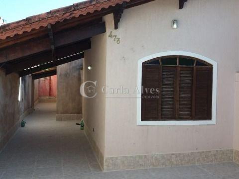 Casa Geminada 2 Dormitórios com 1 Suíte na Vila Mirim Praia Grande