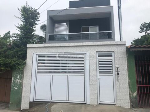 Casa Nova em Condomínio com Churrasqueira na Vila Mirim