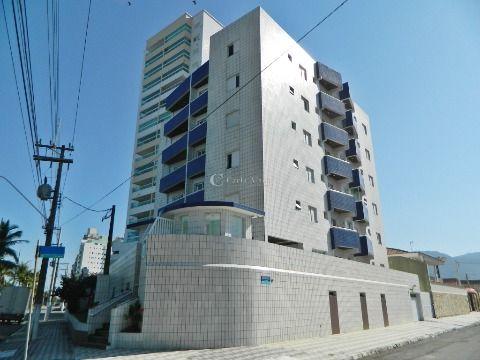 Apartamento de 1 dormitório em frente ao mar em Praia Grande