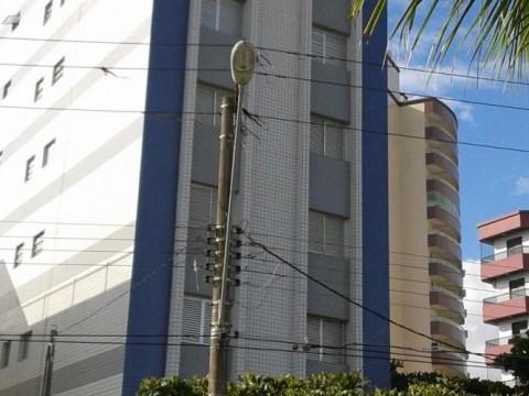 Kitnet residencial à venda, Vila Caiçara, Praia Grande - KN0002.