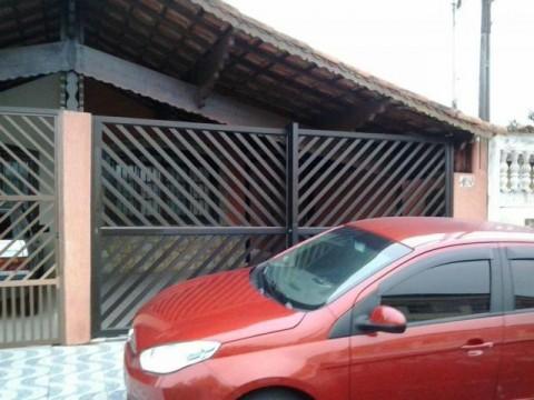 Casa para temporada em Vilamar, Praia Grande, mobiliada