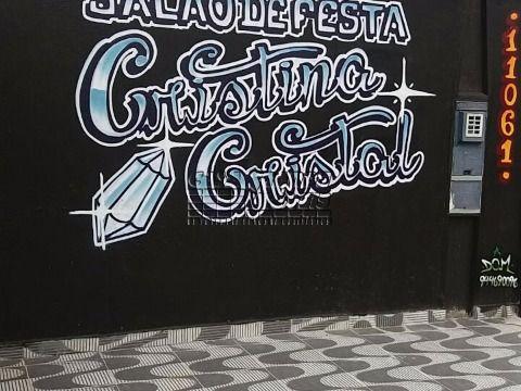 Salão de festa para locação, Maracanã, Praia Grande.