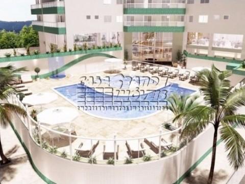 Aptos 1 e 2 dorms Jardim Guilhermina Praia Grande