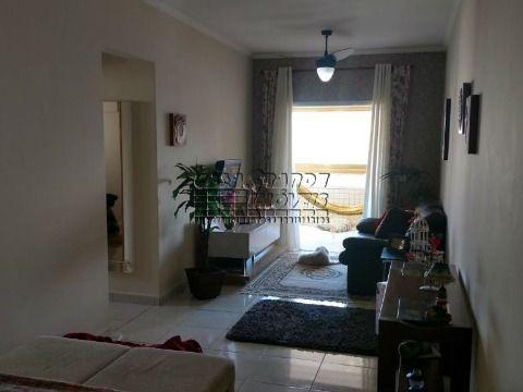 Excelente apartamento mobiliado em Praia Grande, Vila Tupi.