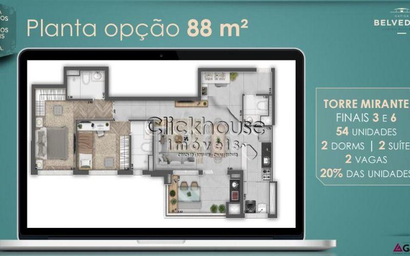 88 metros 2 suites