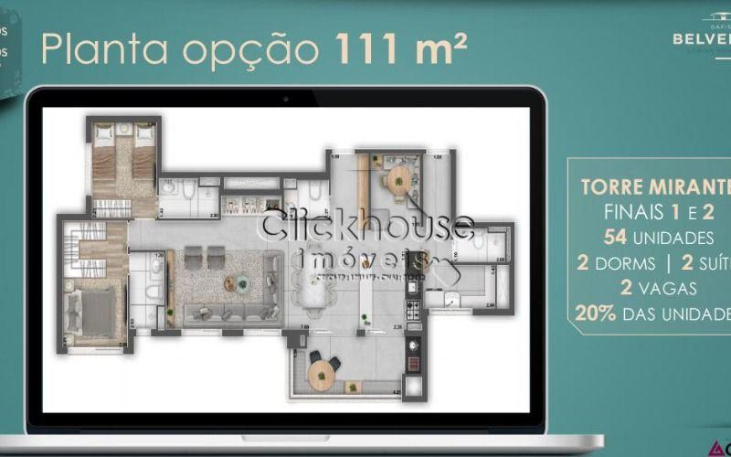 111 metros sala ampliada