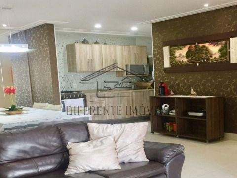 AP12 - Apartamento decorado e mobiliado - 125m2 - 3 Dorms - 2 Suítes - 2 Vagas - Varanda Gourmet