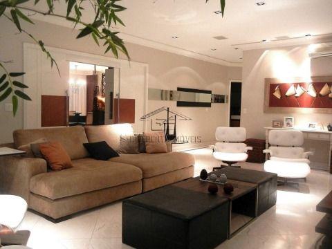 AP153 - Apartamento Mobiliado 329m2 - 4 Dorms - 4 Suítes - 7 Vagas - 6 Wc