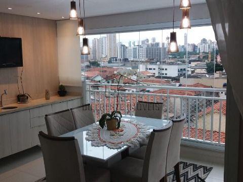 APARTAMENTO 3 DORMITÓRIOS - 1 SUÍTE - 2 VAGAS - 102 m² NO TATUAPÉ !!