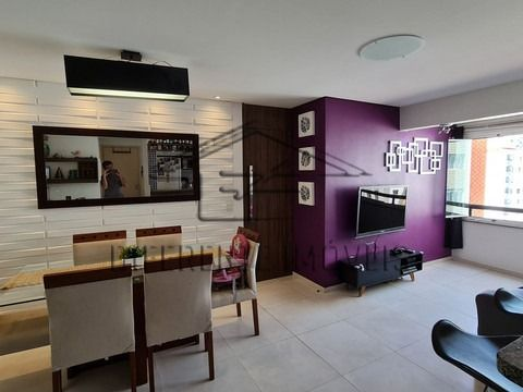 Excelente apartamento Mobiliado de 65m² com 2 quartos e 2 vagas na garagem - ACLIMAÇÃO