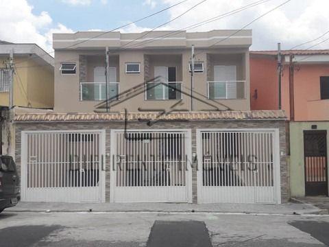 Sobrado excelente muito bem localizado em rua tranquila com 3 quartos - Jardim Nordeste (Vila Ré)