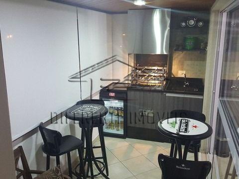 Apartamento com 129 m² com 3 suítes em Santo André