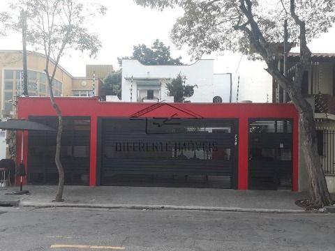 CAR976- LOCAÇÃO  OU VENDA DE CASA COMERCIAL NO BROOKLIN !!!   EXCELENTE LOCALIZAÇÃO