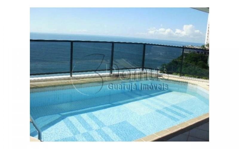 0129698756 Espetacular apartamento com piscina na varanda