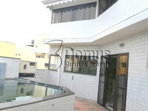 Cobertura triplex, 3 dormitórios, piscina e churrasqueira região Brunella,