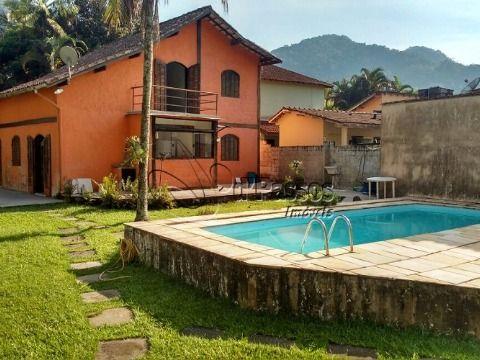 Casa casa com piscina em Boiçucanga
