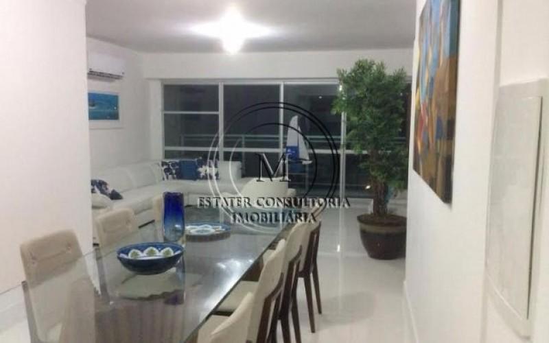 Apartamento no Guaruja com vista mar
