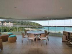 Apartamento frontal ao mar em Riviera de São Lourenço, 04 suítes, luxo