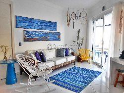 Apto em Riviera, Pé na areia, lindo, 3 dorms ( 2 suítes)