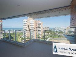 Apto - Riviera - 153 m² - 3 suítes - vista do mar