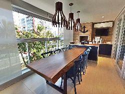 Apartamento em Riviera, 123m², 03 dormitórios ( 1 suíte)