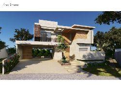 Casa em Riviera - Módulo 24, 526,07m², 5 suítes