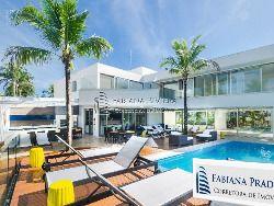 Casa em Riviera,1194m², pé na areia, 7 suítes