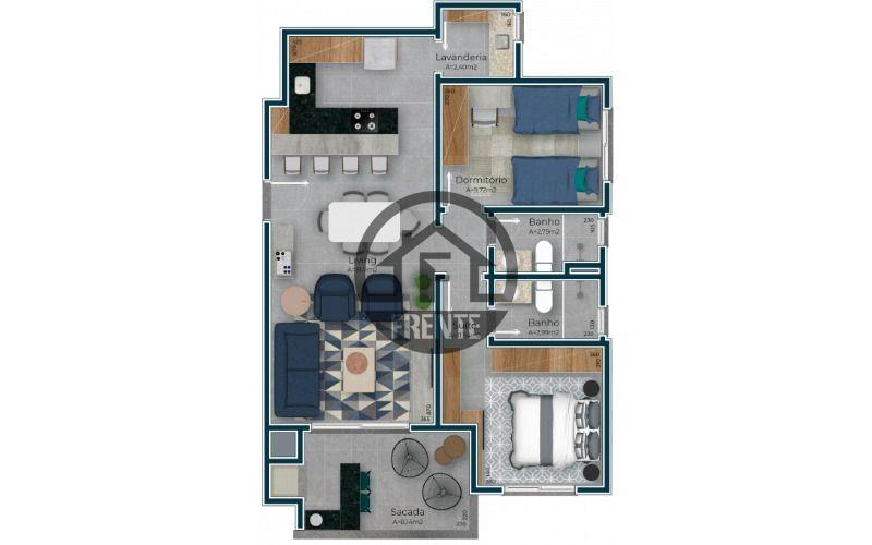 Apto 2 dormitórios - Planta baixa.png