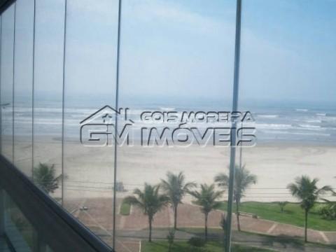 Apartamento 2 dormitórios - suíte - frente mar - Maracanã - Praia Grande.