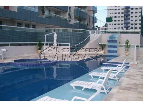 Apartamento 1 dormitório - sacada gourmet - lazer completo - Ocian - Praia Grande.
