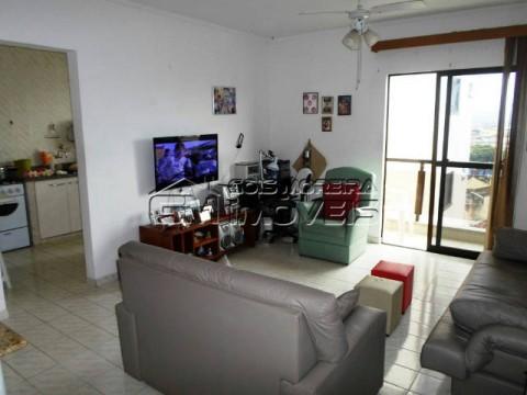 Apartamento amplo 1 dormitório em Praia Grande Vila Caiçara