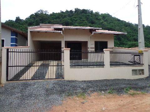 Casa Nova 2 dormitórios - Pedra D' Amolar, Corupá