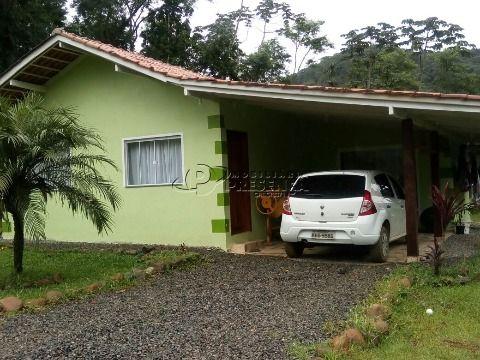 Casa 2 Dormitórios com Terreno 10.000m² - Bomplandt, Corupá
