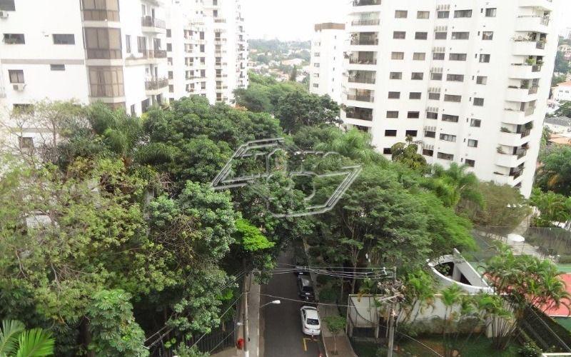 vista do terraço para a Rua Mangabeiras