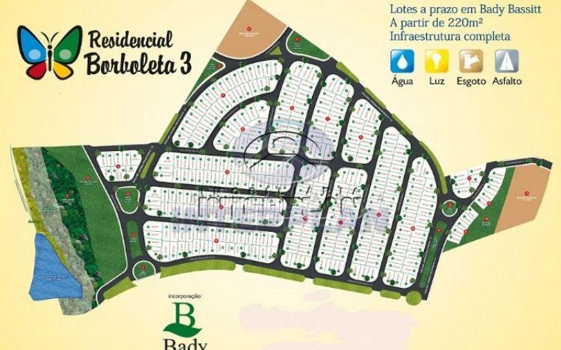 Ref.: TE33176, Terreno Residencial, Bady Bassitt - SP, Res. Borboleta III