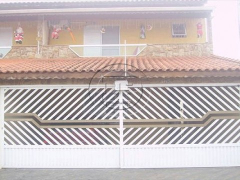 Casa em Boqueirão - Praia Grande