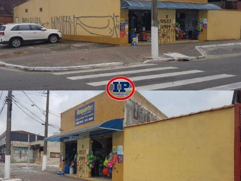 Salão Comercial em Caiçara - Praia Grande