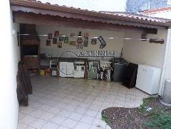 Área da churrasqueira c/ jardim