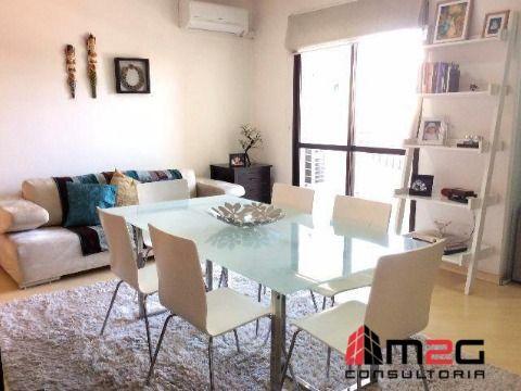 Apartamento Mobiliado com 2 Dormitório e 2 Vagas para Locação na Pompéia