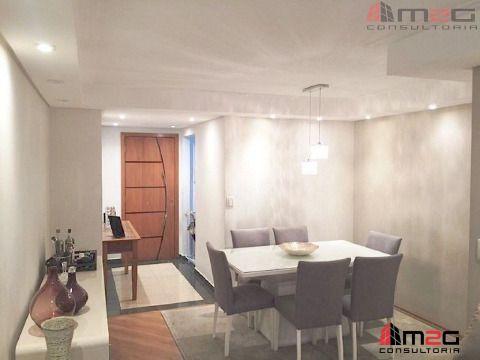 Apto de 74 m2 para venda, com vaga de garagem na Vila Ipojuca.