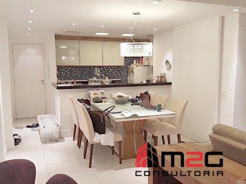Morar bem na Pompéia, apartamento de 77m² com 2 dormitórios e 2 vagas.
