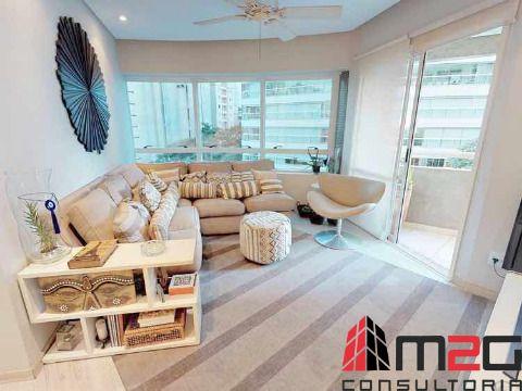 Apartamento mobiliado de 104m² nas Perdizes para venda ou locação