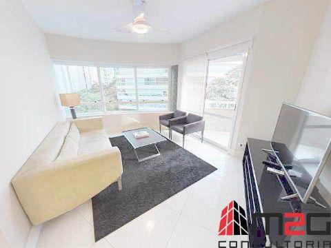 Apartamento mobiliado de 104m² nas Perdizes para venda ou locacao.