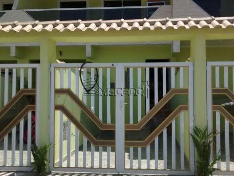 Excelente Casa Sobreposta em Praia Grande