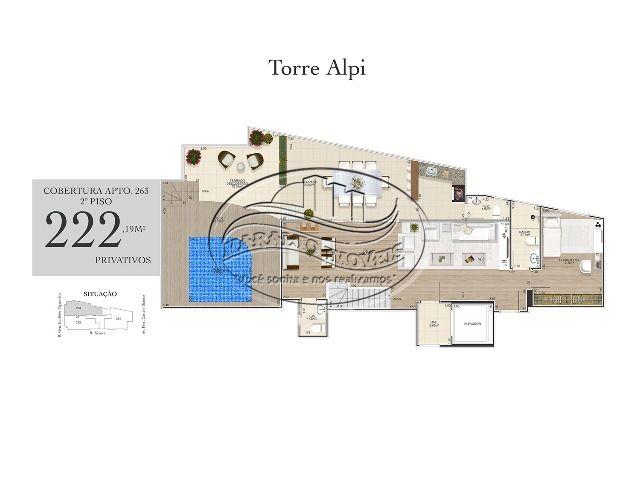 ALPI_COBERTURA_2 PISO_ APT 263