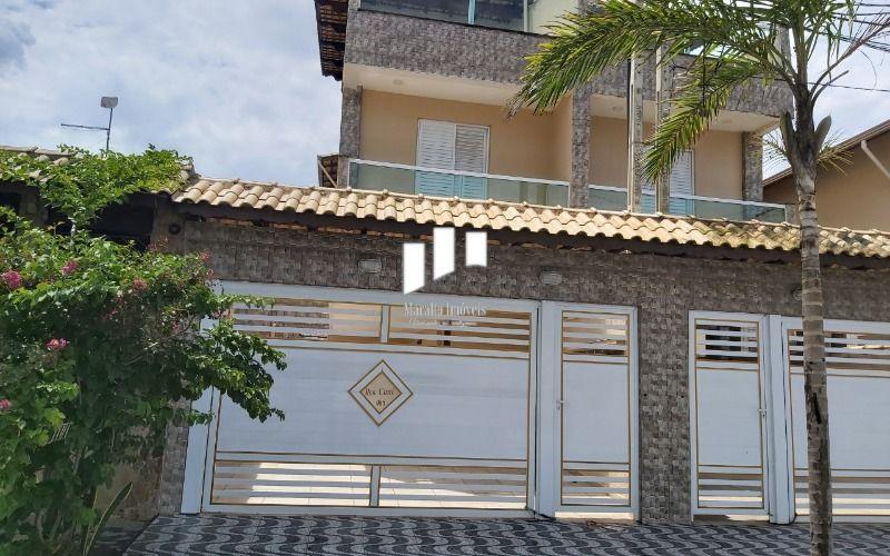 Linda casa de 2 dormitórios no Balneário Maracanã em Praia Grande SP.