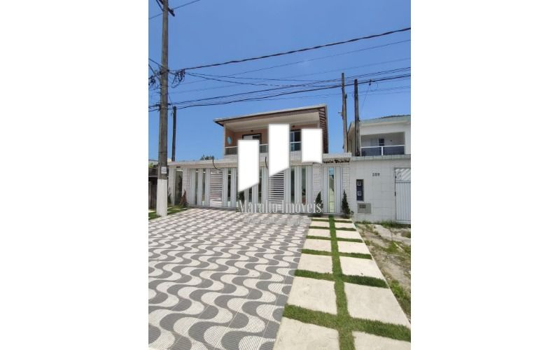 *Casa em Condomínio Vila Mirim Praia Grande S/P. Aceita Financiamento Bancário.