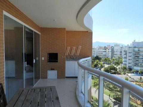 Apartamento pé na areia no módulo 7 – 87 m²